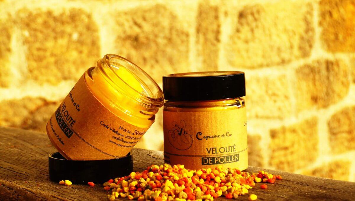 crème hydratante naturelle - Velouté de Pollen
