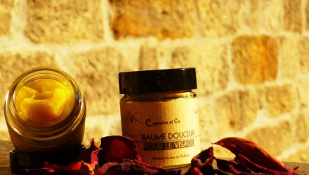 Baume douceur au miel pour le visage