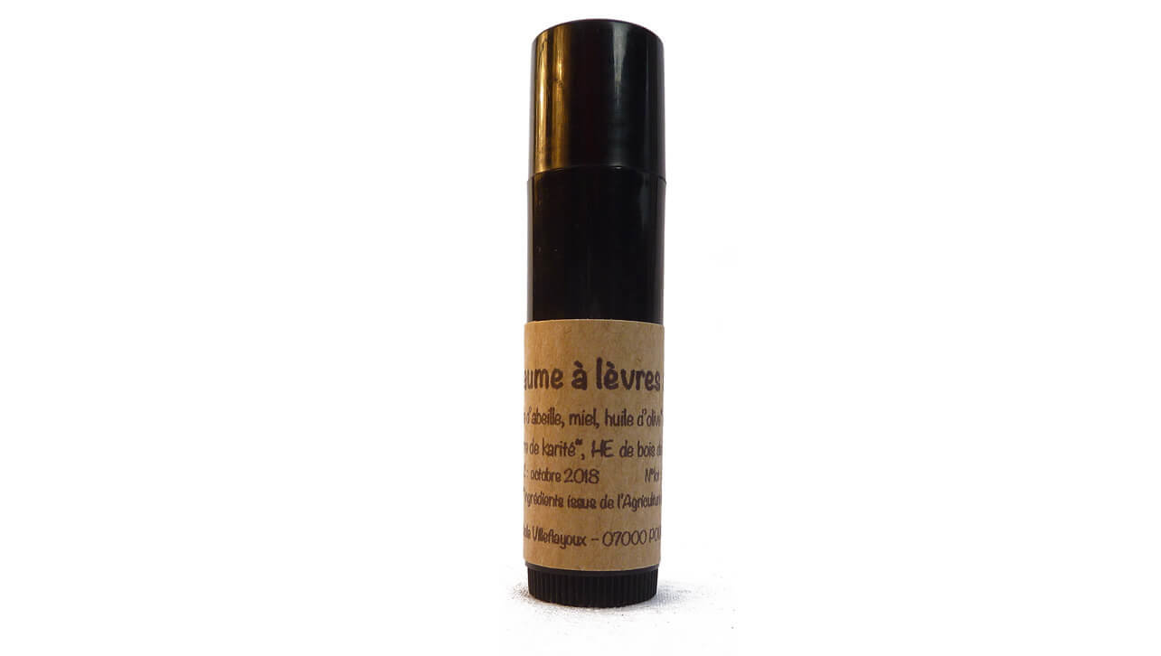 Baume levres stick naturel